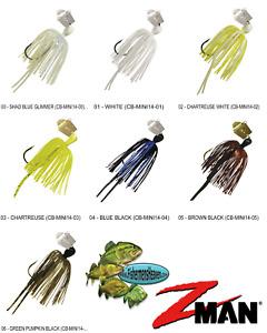 Z-MAN Chatterbait Mini 1/4oz Jig CB-MINI14 Pick Any 7 Colors
