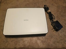 "Philips PD9000/37 9"" Portable DVD Player White Black W/ AC Power Adapter TESTED"