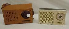 Vintage Black & White GE General Electric Super Six Transistor Radio P790A