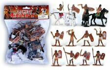 """Ancient Egypt Bagged Set 2.5"""" tall 16 pieces Egyptian Warriors Playset #40"""
