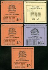 UGANDA : 1962-70. Stanley Gibbons #SB1-3. Also SB5 & SB5 Inverted. VF, Mint NH.