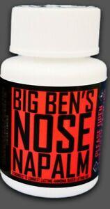 Nose Napalm Original - Strongest & Longest Lasting Ammonia Based Lifting Aid