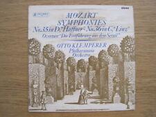 """KLEMPERER """"Mozart: Symphonies # 35 & 36"""" orig SAX 2436 (2nd)"""