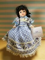 Madame Alexander Little Women Beth 28160 with Doll Stand