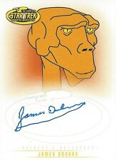 STAR TREK TOS ART & IMAGES - AUTOGRAPH A6 James Doohan as the voice of Lt Arex