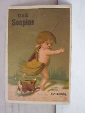 Use Soapine. French Laundry, Kendall Mfg. Co Providence, R. I. Trade Card