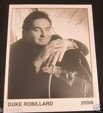 DUKE ROBILLARD—1990s PUBLICITY PHOTO