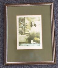"Vladimir Suchanek: ""Frühling"", Farblithographie, signiert, 22x30 cm, gerahmt,"