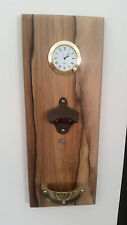 Deluxe Wall Mounted Magnetic Bottle Top Opener Time Piece Beer Christmas Xmas