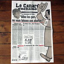 Canard enchainé magazine 14 janvier 2015 CABU ! NOUS SOMMES TOUS CHARLIE