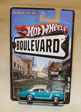 2012 Hot Wheels Boulevard - Big Hits ~ 1968 Olds 442 Teal New
