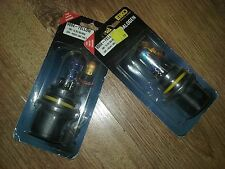 2 Headlight lamp bulbs auto car HB1 eiko 9004-yellow 12V 65/45W Pair 9004-yel-bp