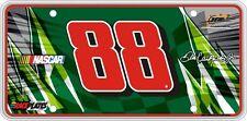 #88 Dale Earnhardt Jr Signature Series Souvenir License Plate SS8812WH