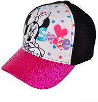 Disney Minnie Mouse Girls Pink Baseball Hat Cap Adjustable Kids Children Toddler