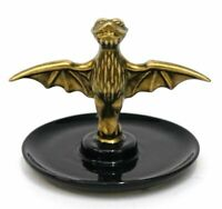 NWT Disney Parks The Haunted Mansion Bat Stanchion Jewelry Dish Trinket Tray