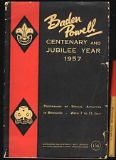 1957 Bridgend BADEN POWELL CENTENARY Boy Scouts GIRL GUIDES Cubs Brownies WALES