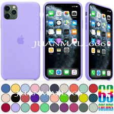 "CASE FOR APPLE IPHONE 11 PRO MAX 5.8"" 6.1"" 6.5"" ORIGINAL SILICONE OEM COVER SKIN"