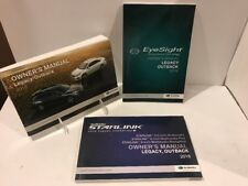 18 2018 Subaru Legacy / Outback owners manual with EyeSight & Starlink