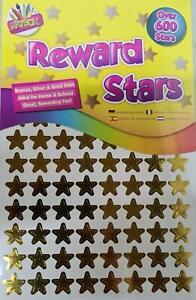 Reward Stars 600 Stickers Per Pack
