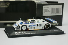 Minichamps 1/43 - Mazda 787 B Le Mans 1991 N°18