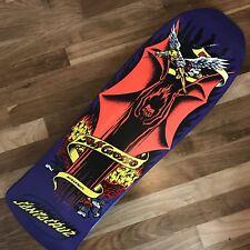 JEFF GROSSO skateboard deck VINTAGE SantaCruz 30yr 'Demon-Bat' Rare