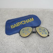 More details for vintage babycham sunglasses with case - deer star design collectible