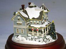 CHRISTMAS HAWTHORNE VILLAGE VICTORIAN LIGHTS HOLIDAY GATHERING