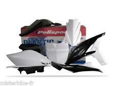 Kit plastiques Coque Polisport  Yamaha YZ250F 2010-2013  Couleur:  Blanc