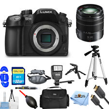 Panasonic Lumix DMC-GH4 Mirrorless Micro 4/3 + Lumix G Vario 14-140mm PRO KIT!!