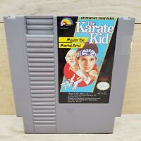 The Karate Kid NES Nintendo Entertainment System Video Game Tested