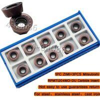 RPMT1204MO DU Milling insert Universal material for SRDPN/EMR 6R Round Nose Mill
