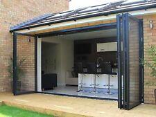 New, Aluminium Bi fold Doors, anthracite grey * 1800mm!! * £1099 free delivery *