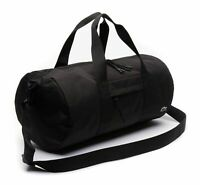 LACOSTE Neocroc Roll Bag Sporttasche Reisetasche Tasche Black Schwarz Neu