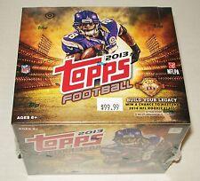 2013 JUMBO Topps NFL Football Factory Sealed Box Hobby Edition  *Free Shipping*