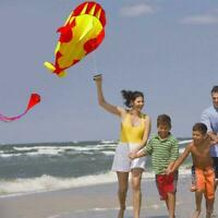 Cartoon 3D Software Kite Parafoil Giant Whale Flying Gift Toy Kite Outdoor P7U9