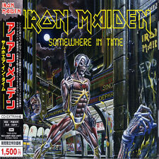 IRON MAIDEN - Somewhere In Time - Japan Enhanced CD TOCP-53763