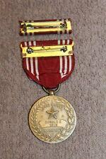Original Named WW2 U.S. Army Good Conduct Medal w/Ribbon & Ribbon Bar