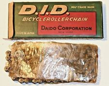 New Listingvintage d.i.d. skip tooth bicycle roller chain 1x3/16x56 Nos