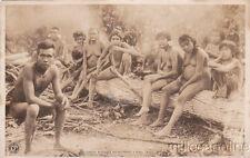 * BRAZIL - Indios Botocudos Est°Esp°Santo e Minas, Grupo