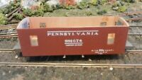 Mainline HO Vintage PRR N6b Caboose Kit, Needs Completed, Exc