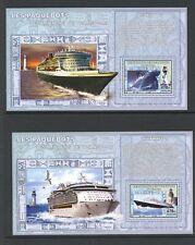 Congo 2006 Passenger Ships 4 MS MNH