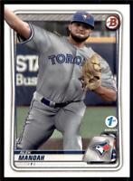 2020 Bowman 1st Edition #BFE-149 Alek Manoah - Toronto Blue Jays