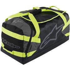 Alpinestars MX Goanna Grey Fluro Yellow Carry Pack Travel Motocross Gear Bag