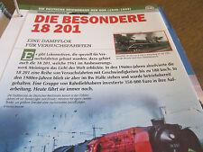 Deutsche Eisenbahngeschichte DR 1949-1993 Die Besondere 18 201 Dampflok Versuch