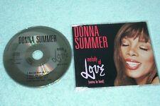 Donna Summer Maxi-CD Melody Of Love - German 4-track CD - 856 357-2 - morales
