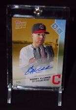 2017 TOPPS NOW COREY KLUBER AUTO CARD #1/1 GOLD CLEVELAND INDIANS #OD-91D