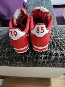 Nike Air Max Cortez rot Leder Größe 42,5 Nagelneu Limited Edition