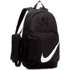 NIKE Elemental Young Athlete Kids Backpack Sports Bag Size 22 Litre Black NEW