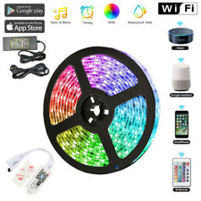 1M USB WIFI RGB LED Stripe Streifen Band Licht Musik für Alexa Google LD2147