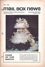 Vintage Cake Magazine Mail Box News May 1978 Maid of Scandinavia